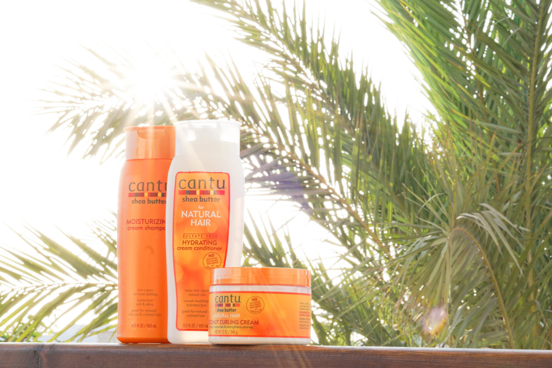 Cantu products curly hair care routine